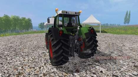 Fendt 820 Vario v2.0 für Farming Simulator 2015