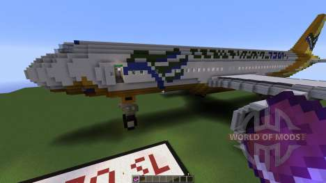 Airbus A320SL Cebu Pacific Airways für Minecraft