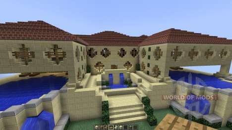 Sandstone Villa [1.8][1.8.8] pour Minecraft
