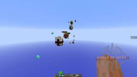 Snake Parkour Map für Minecraft