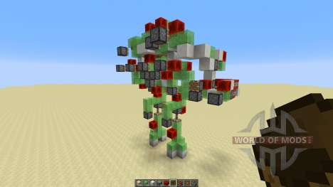 Atlas Mech Suit with Missile Launcher für Minecraft