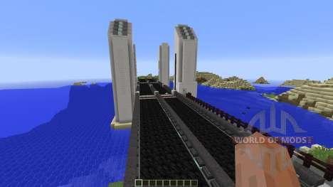 Vertical Lift Bridge für Minecraft