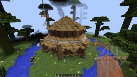 Clifftop Village [1.8][1.8.8] pour Minecraft