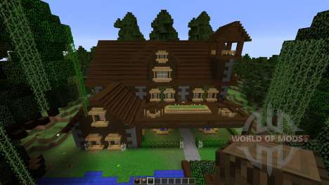 Island Bayou Mansion pour Minecraft