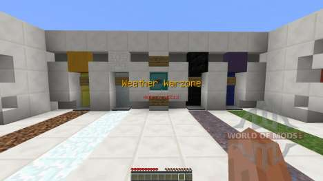 Weather Warzone PvP Map für Minecraft