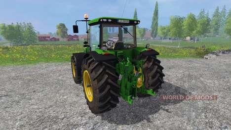 John Deere 8360R v3.0 pour Farming Simulator 2015