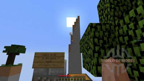 SkyChunk: Survival on 14 little chunks pour Minecraft