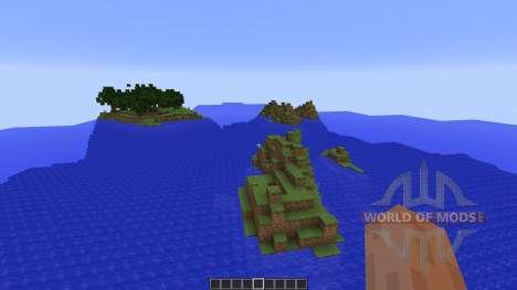 Custom Terrain: New Pixel für Minecraft
