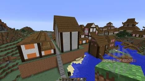 Japanese Village pour Minecraft
