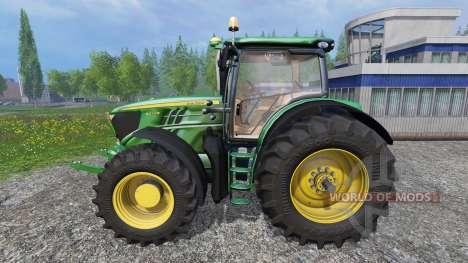 John Deere 6210R v1.1 für Farming Simulator 2015