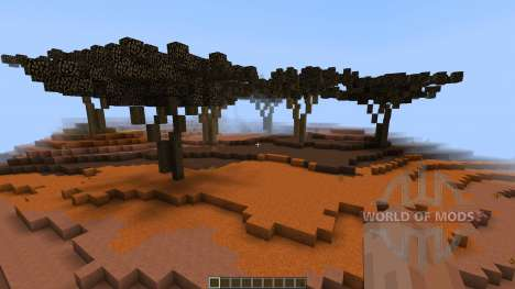 Mesa Desert Chuck Display [1.8][1.8.8] pour Minecraft