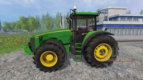 John Deere 8370R v3.0 pour Farming Simulator 2015