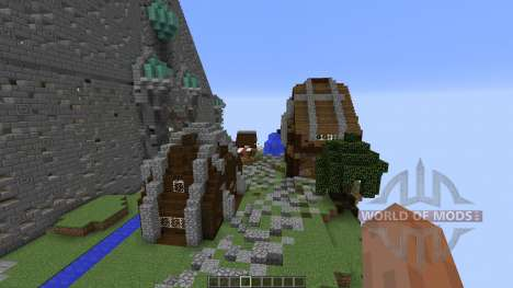 Cirrane The Forgotten Town für Minecraft