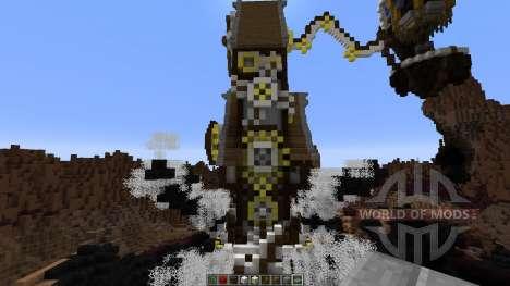 Mechanic steampunk spider pour Minecraft
