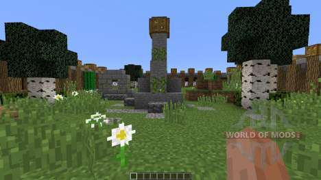 The 1v1 Zone pour Minecraft