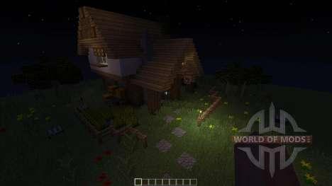 Medieval House Inn für Minecraft