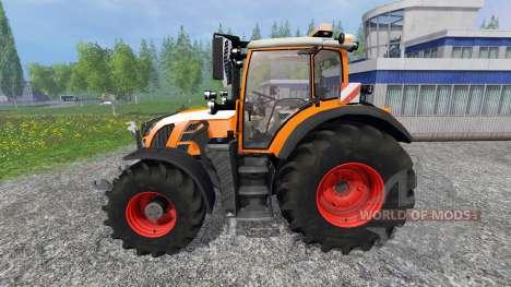 Fendt 718 Vario orange für Farming Simulator 2015