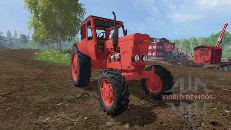 MTZ-52 rot für Farming Simulator 2015