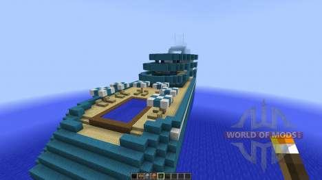 Cruise Yacht full interior [1.8][1.8.8] für Minecraft