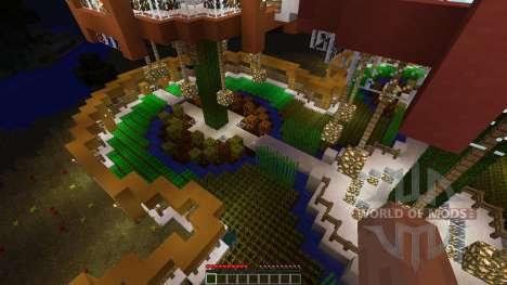 Epic Farm Base Treehouse pour Minecraft