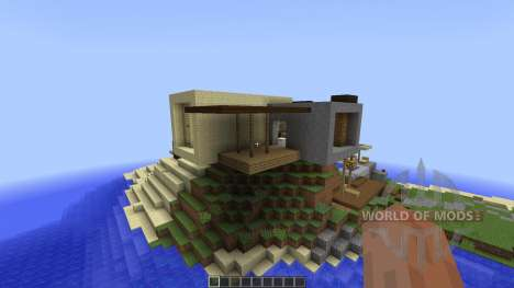 LUX contemporary villa [1.8][1.8.8] pour Minecraft