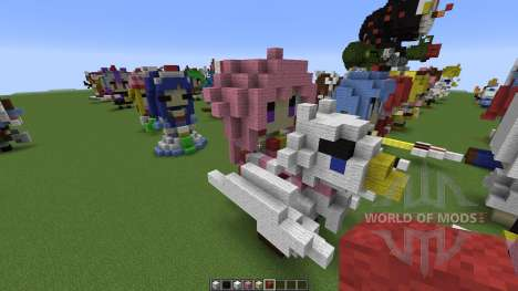 Character Statues pour Minecraft
