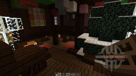 christmas adventure inspired villa für Minecraft