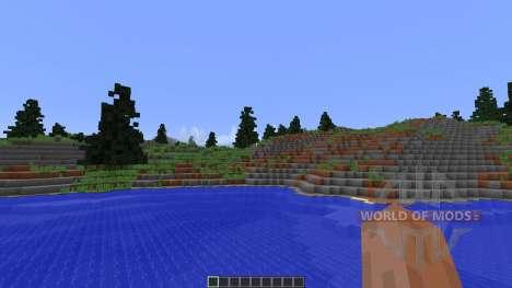 Fog Islands Custom terrain für Minecraft