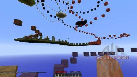 Parkour 6 Minecraft [1.8][1.8.8] pour Minecraft