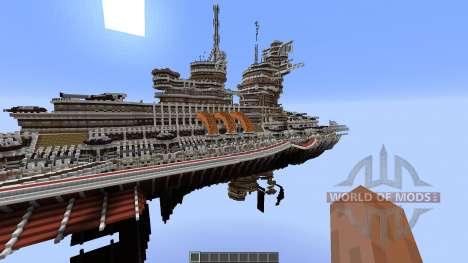 Aurora-Class Battleship für Minecraft