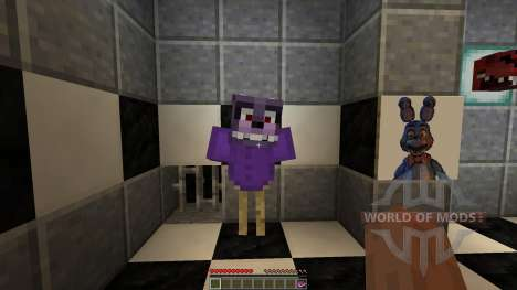Fazbear Fright The Horror Attraction[1.8][1.8.8] pour Minecraft