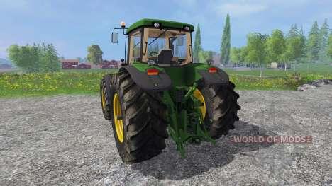 John Deere 8520 v2.0 pour Farming Simulator 2015