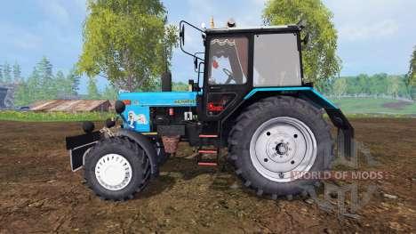 MTZ-82.1 Biélorussie tuning v2.3 pour Farming Simulator 2015