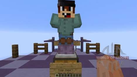 ParkourRaceBlueLapis pour Minecraft
