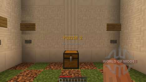 The Wooden Puzzles [1.8][1.8.8] pour Minecraft