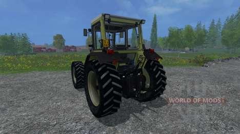 Hurlimann H5116 pour Farming Simulator 2015
