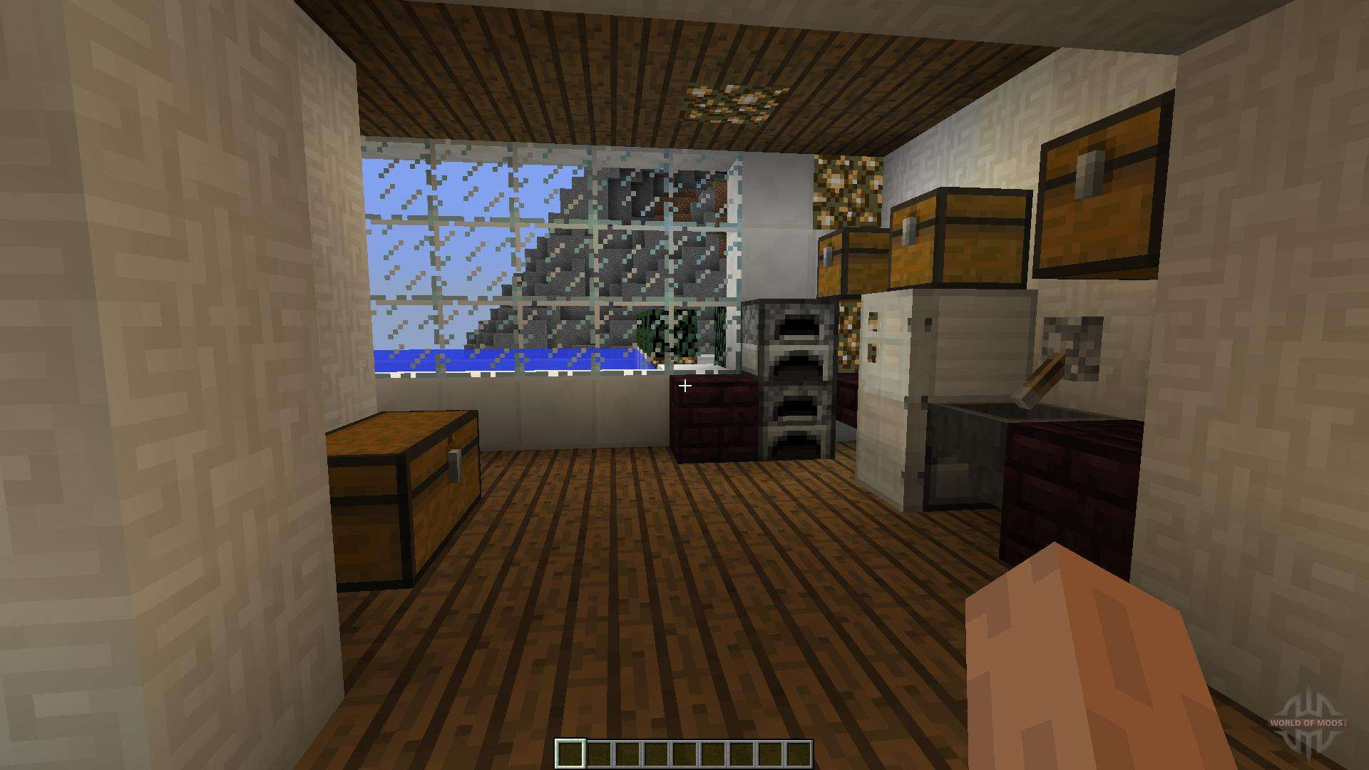 Modern minecraft home pour minecraft for Modern house 8 part 6