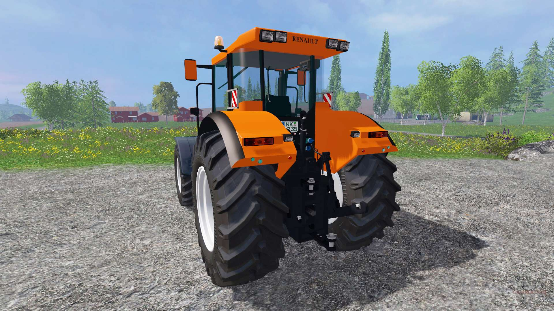 renault ares 735 rz pour farming simulator 2015. Black Bedroom Furniture Sets. Home Design Ideas