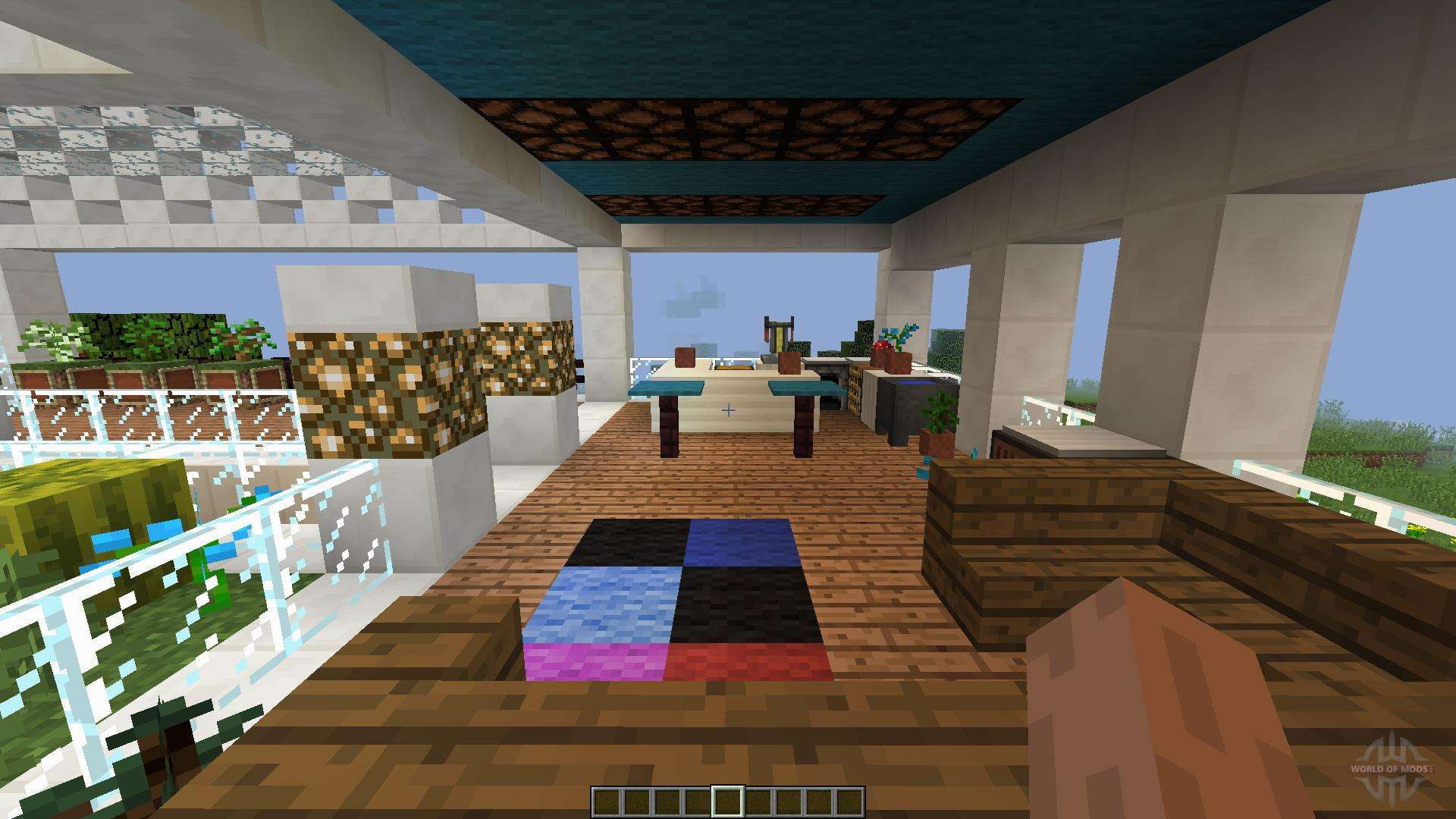 Maison moderne minecraft a telecharger free hd wallpapers for Modele maison minecraft