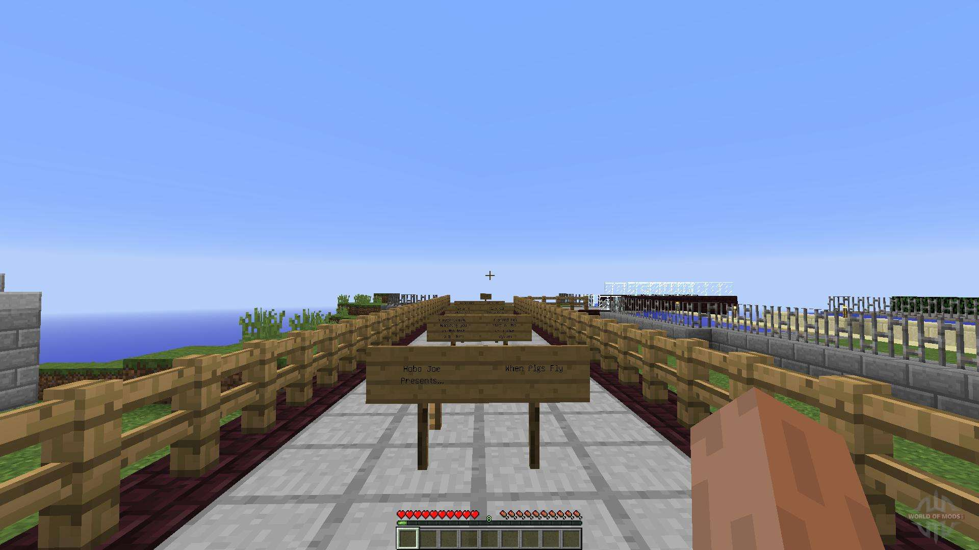 how to make a pig fly in minecraft