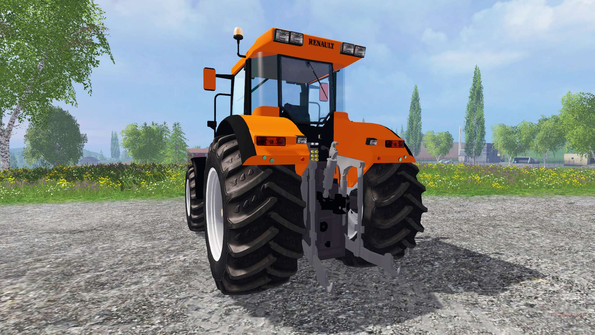 renault ares 610 rz pour farming simulator 2015. Black Bedroom Furniture Sets. Home Design Ideas