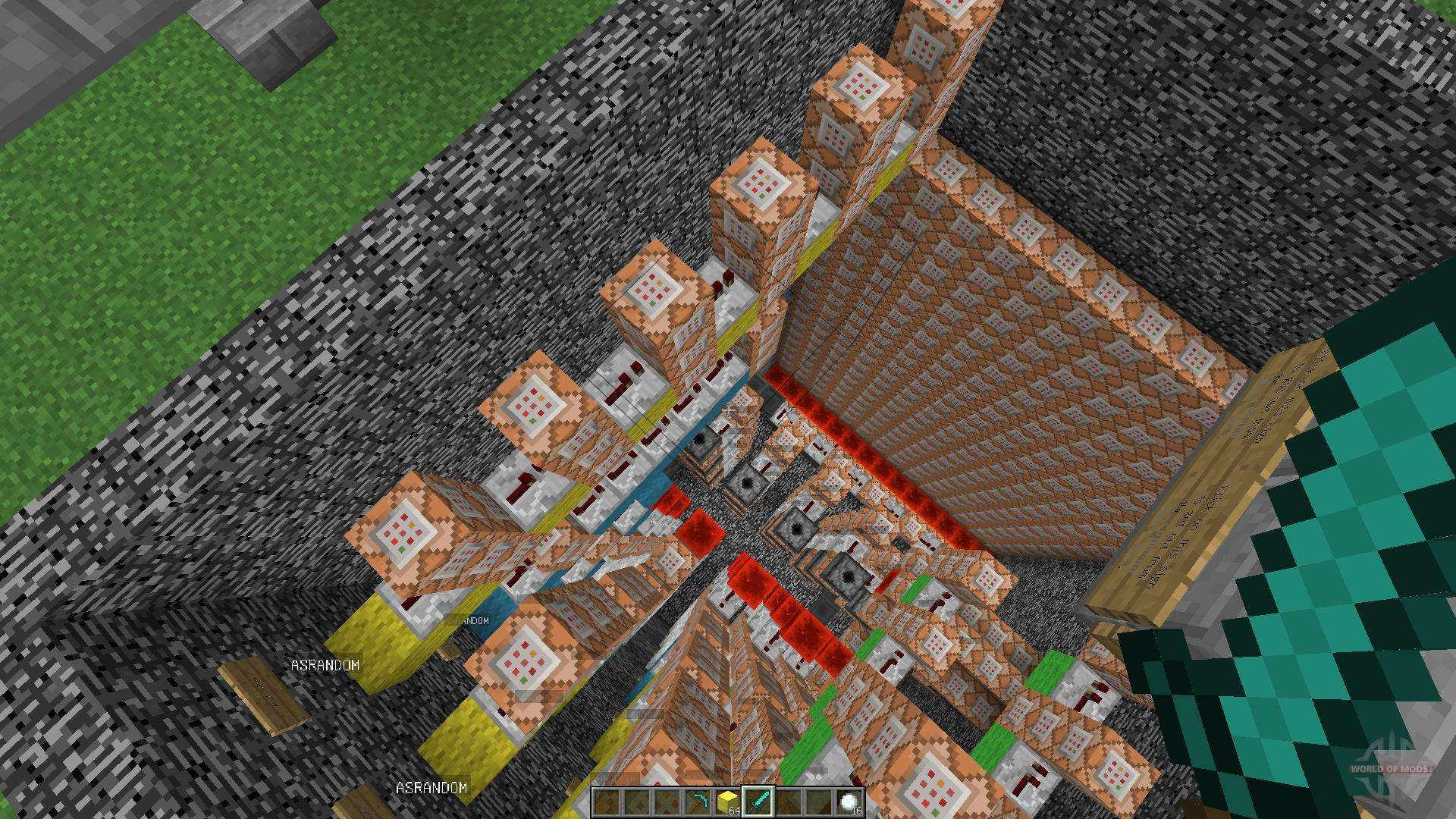 installateurs de blocs chanceux minecraft 1.8