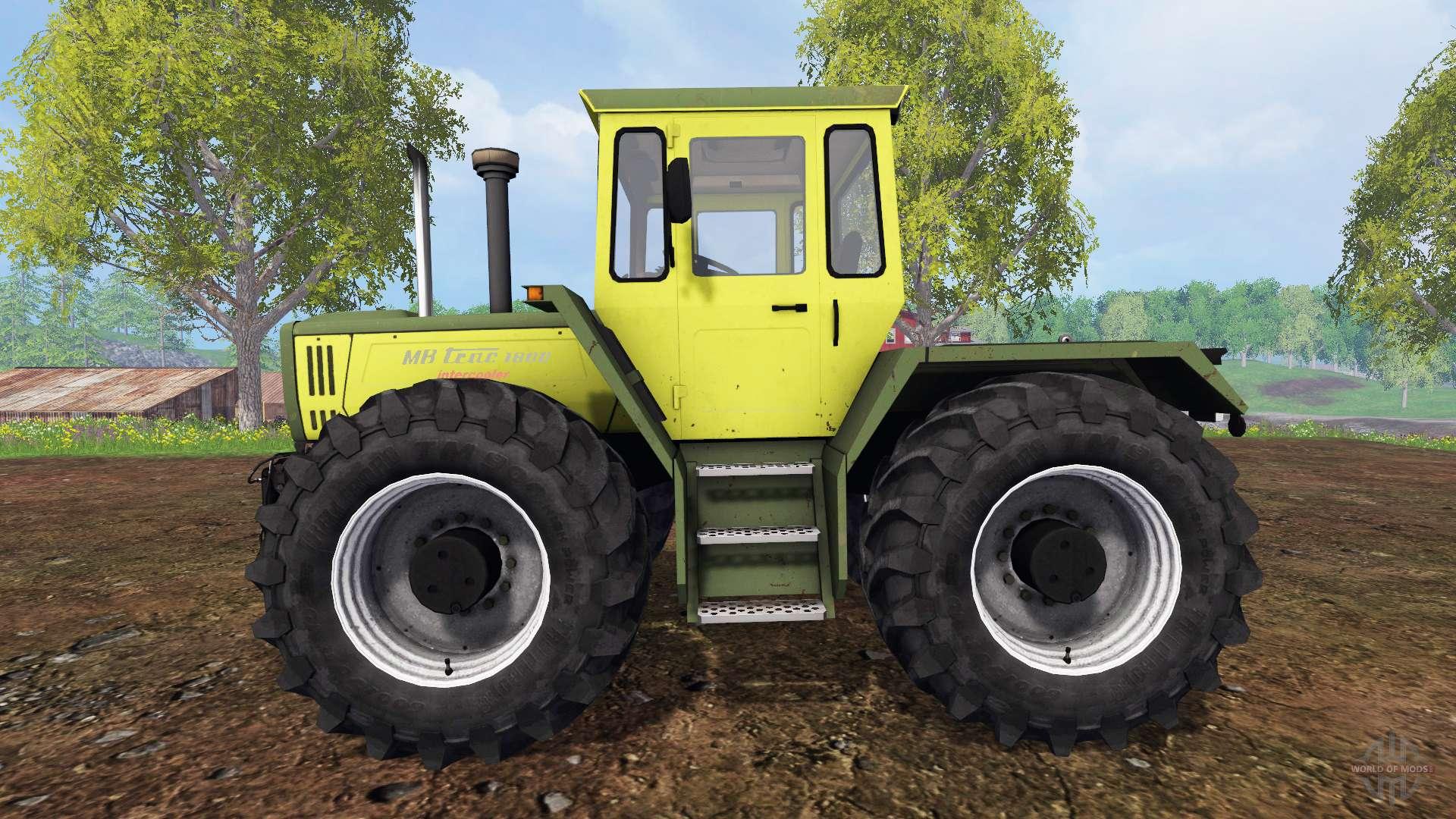 Mercedes benz trac 1800 intercooler f r farming simulator 2015 for Mercedes benz of valencia general manager