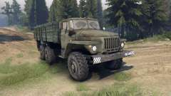 Ural-4320-01 pour Spin Tires