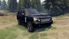 Range Rover Sport Black Final für Spin Tires