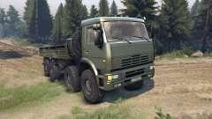 KamAZ-6560 für Spin Tires