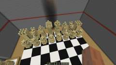 Playable Chess in Minecraft
