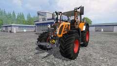 Fendt 718 Vario orange