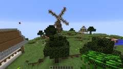 Sky Village pour Minecraft
