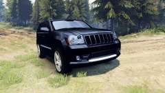 Jeep Grand Cherokee SRT-8 2009 pour Spin Tires